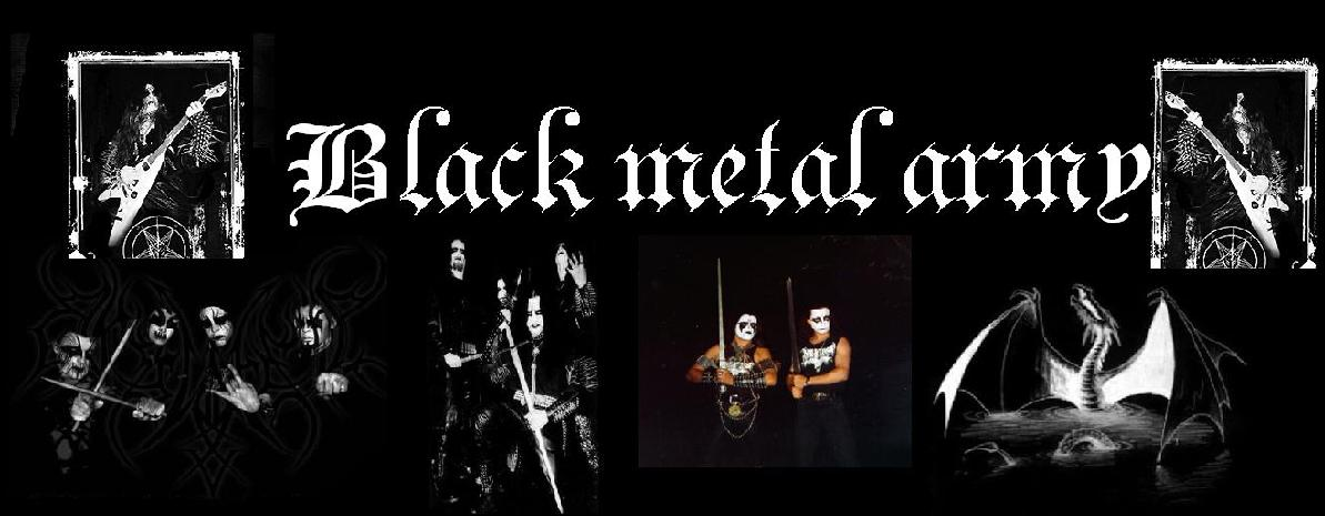 black metal army