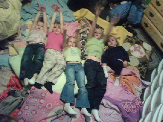 The first sleepover