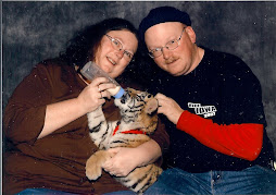 Dennis and Donna with baby Tiger