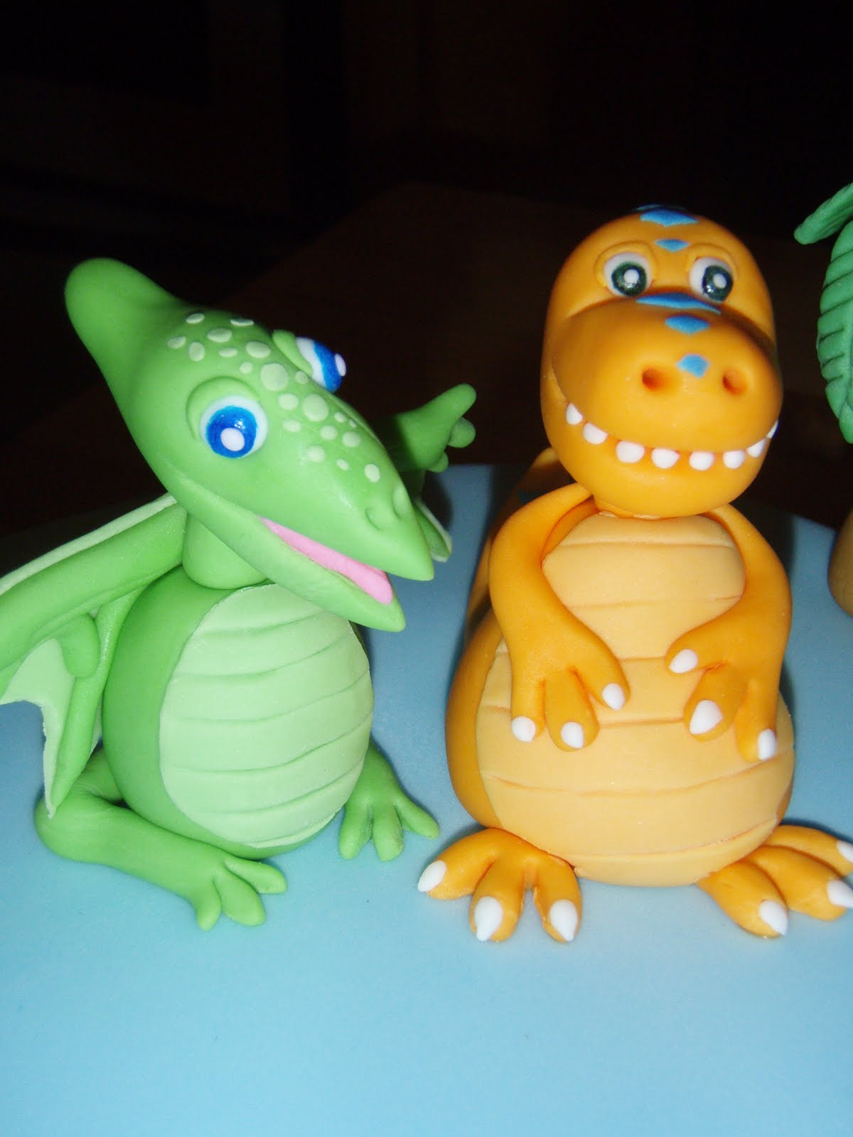 Cake Decorating Fondant Characters : For Batter or For Worse...: 4th Birthday Cake: Dinosaur Train
