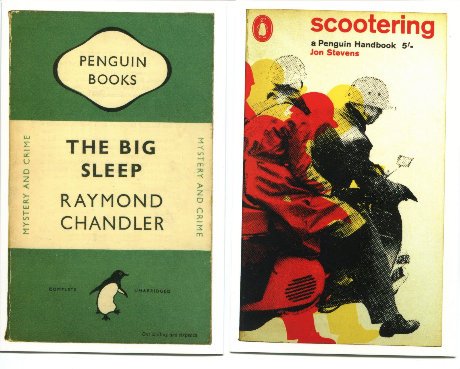 Penguin Book Covers Vintage : Vintage penguin book cover postcards from