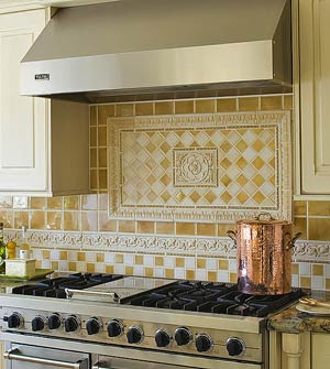 Tuscan design Tuscan Kitchen Tile Backsplash for Tuscany Decor