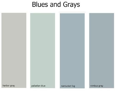 HOME DECOR and DESIGN: EXPLORING WALL COLOR: GRAY