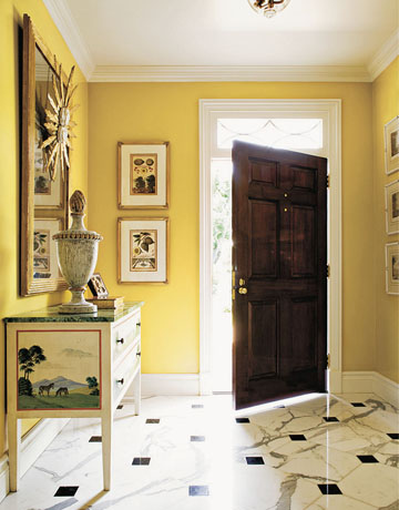 decor and design exploring wall color the warm tones yellow and gold