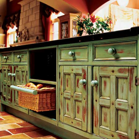 Painted Kitchen Cabinet Pictures on Home Decor And Design  Exploring Wall Color  Serene Green