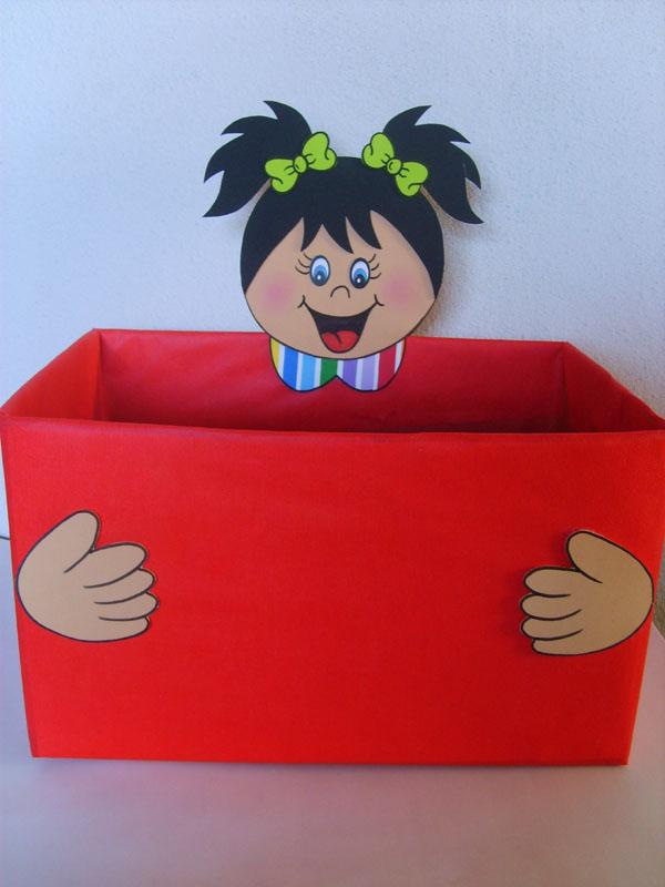 Pedag giccos caixas para organizar os materiais na sala for Porta kinder