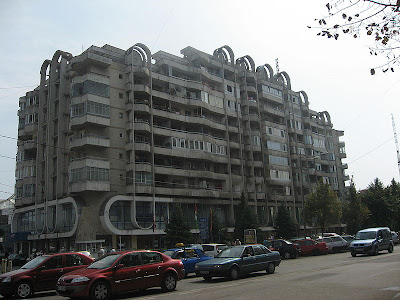 apartment blocks romania communist