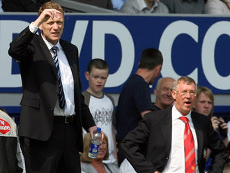 alex ferguson and david moyes