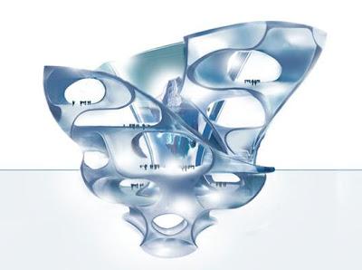 dubai's blue ice crystal complex