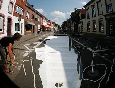 edgar mueller amazing 3d street chalk art