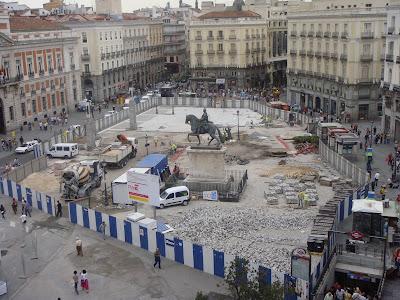 Madrid en fotos finalizan las obras en puerta del sol Obras puerta del sol