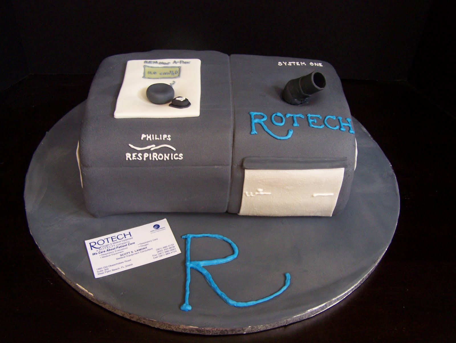 wendy woo cakes  a rotech cpap machine cake