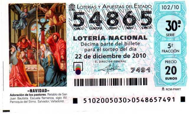 la bruja de la suerte loteria: