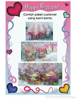 Contoh beberapa paket ultah kami :