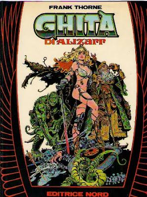Ghita de Alizarr - Frank Thorne - edición italiana
