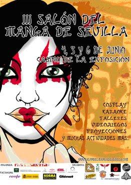 Cartel del Salón del Manga de Sevilla