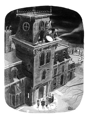 La familia Addams - Charles Addams - Caldero