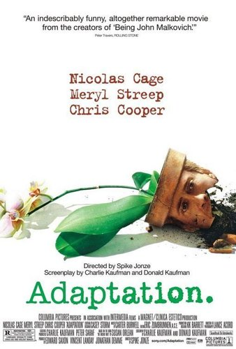 Adaptation. El ladrn de orqudeas - Spike Jonze - Charlie Kaufman