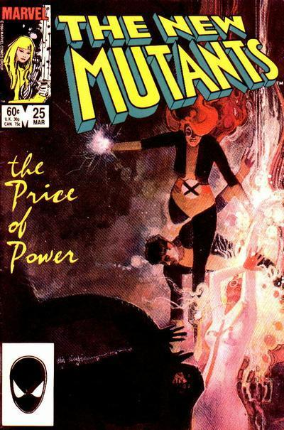 Los Nuevos Mutantes 25 - Bill Sienkiewicz