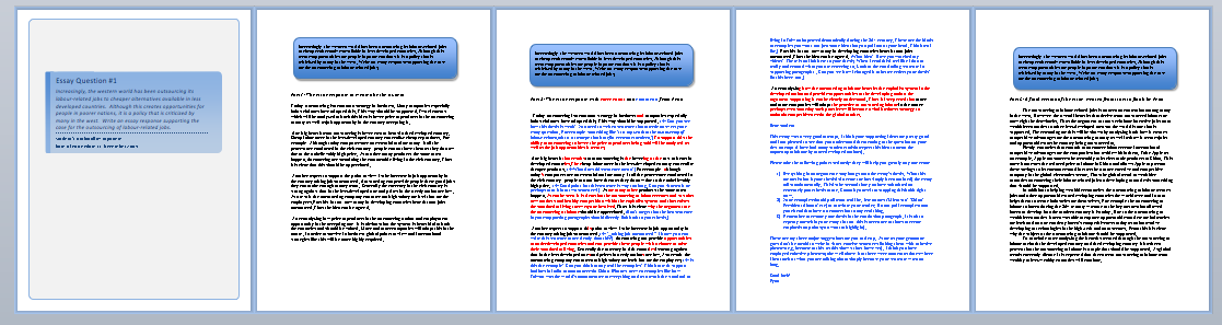 4 credit courses paper corrections online