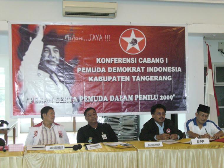 KONFERCAB PEMUDA DEMOKRAT INDONESIA KAB. TANGERANG