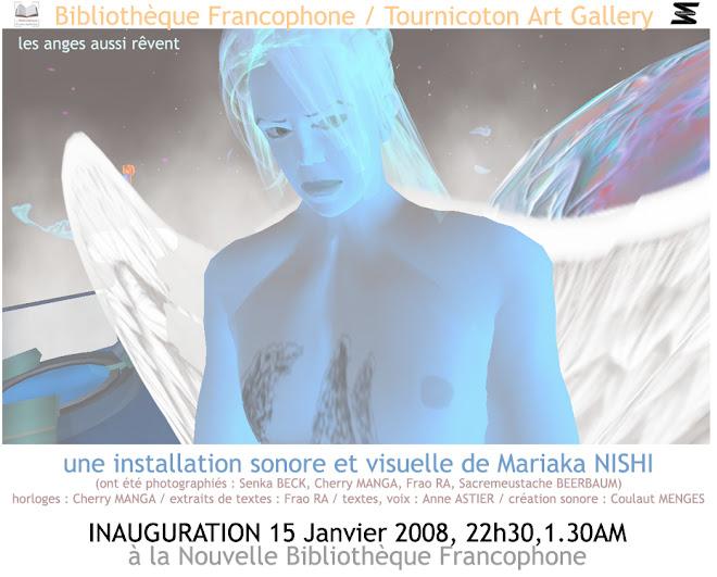 expo sonore visuelle mariaka nishi