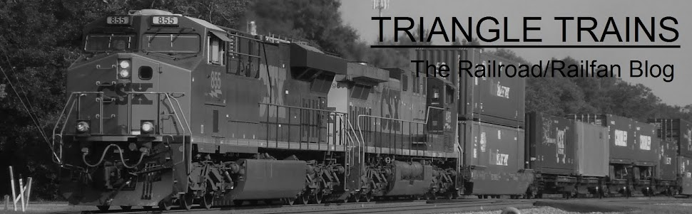 Triangle Trains: The Railroad/Railfan Blog