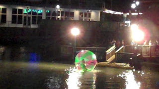 Photography Rick van der Valk -Broadway at the Beach, SC. -This kid was in a hamster ball on the water, funny kids kept falling
