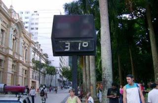 Temperatura da semana
