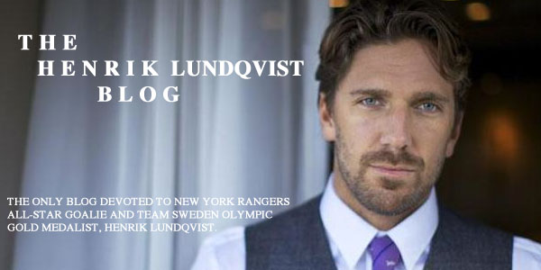 The Henrik Lundqvist Blog