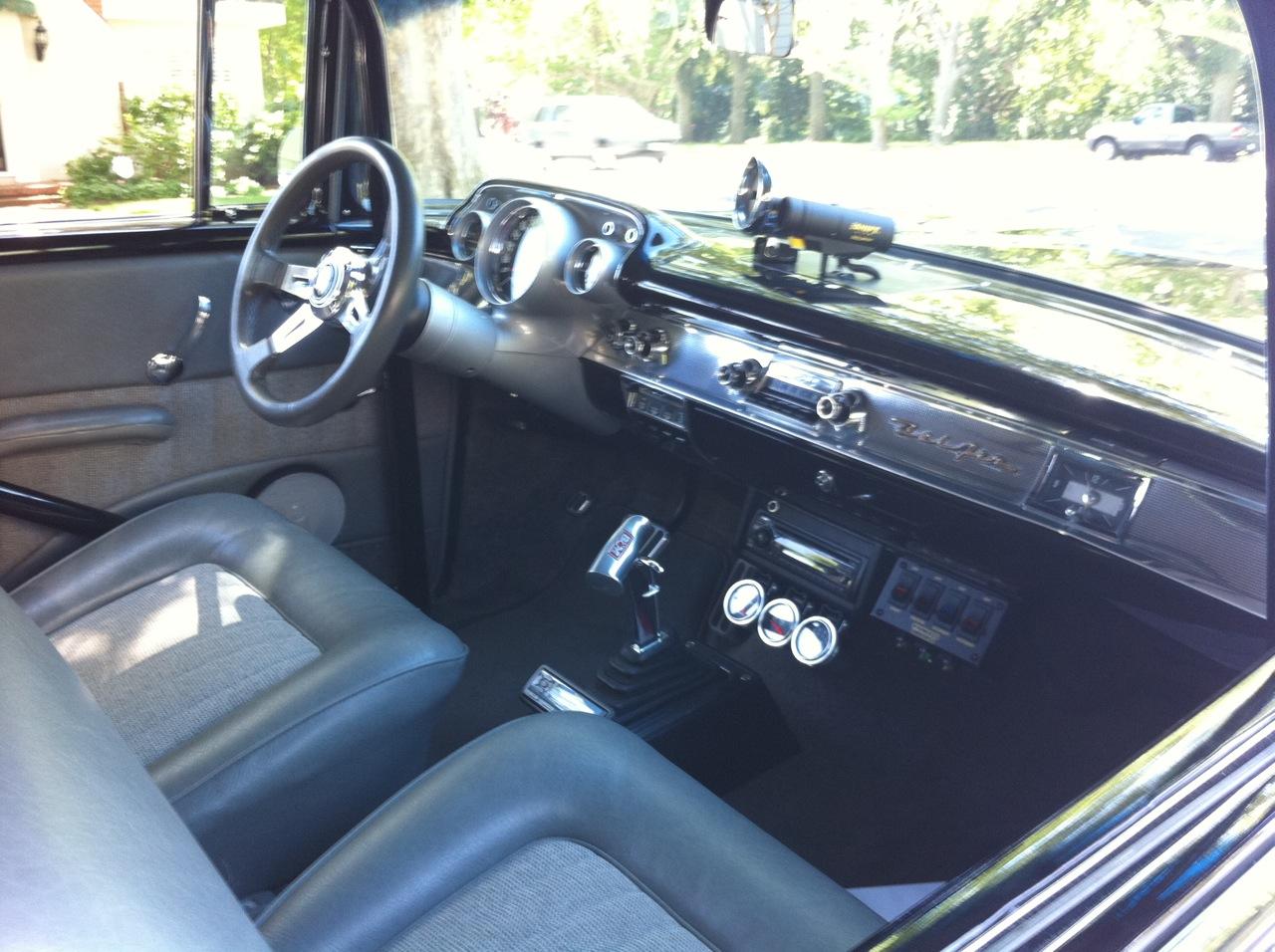 hot 1957 belair sedan