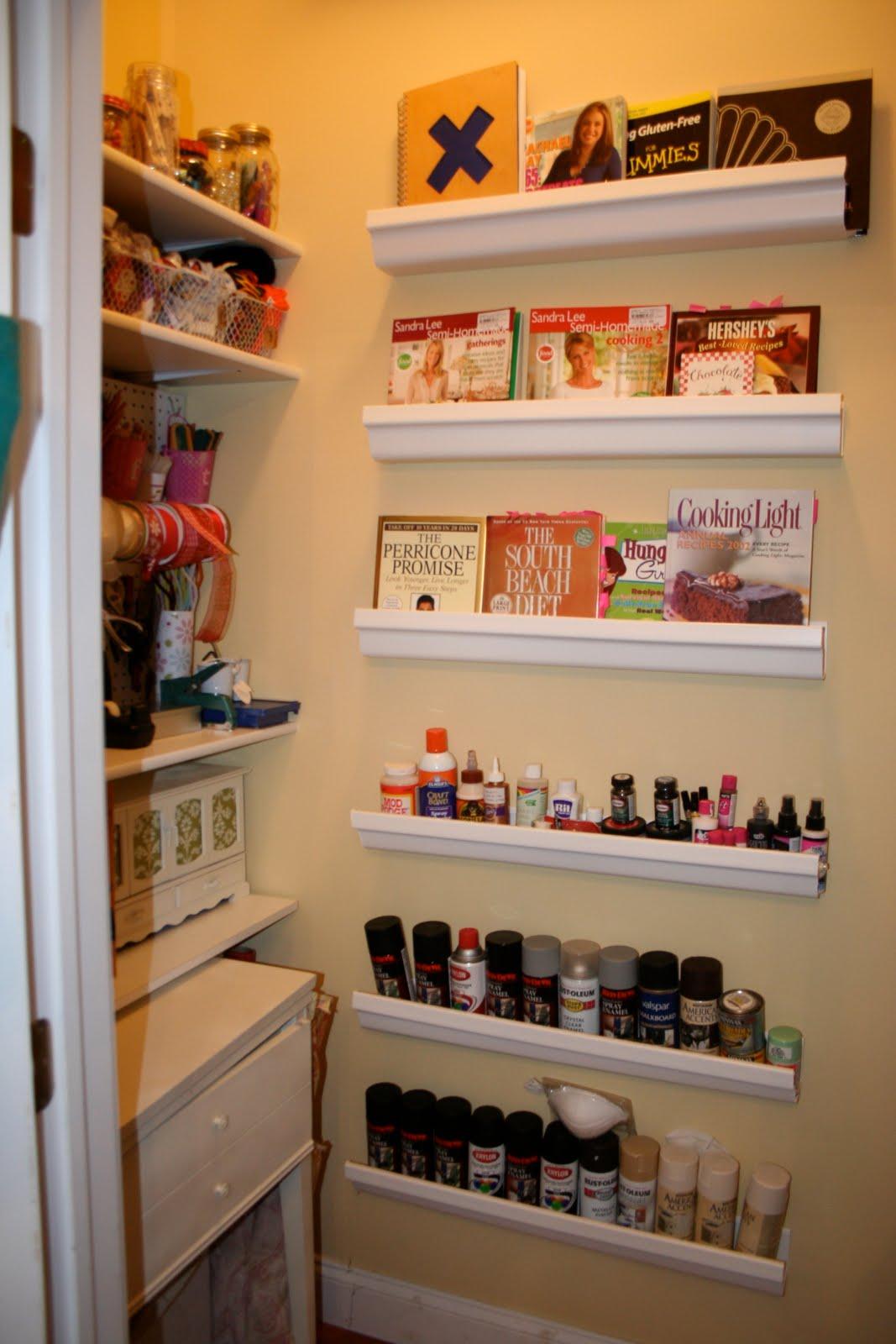Craft closet storage - Reorganizing My Craft Closet