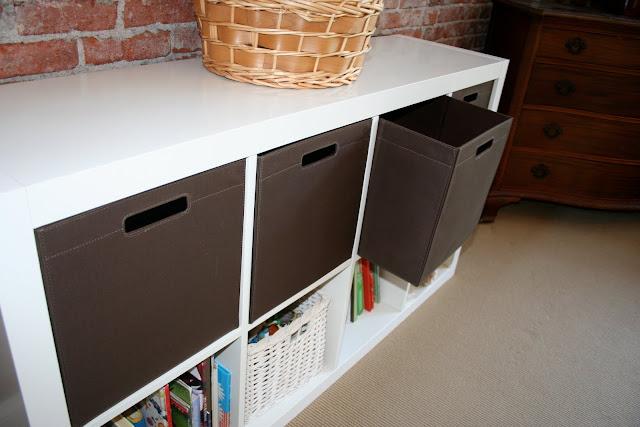 Ikea Expedit Bookcase Meets Target Itso Bin