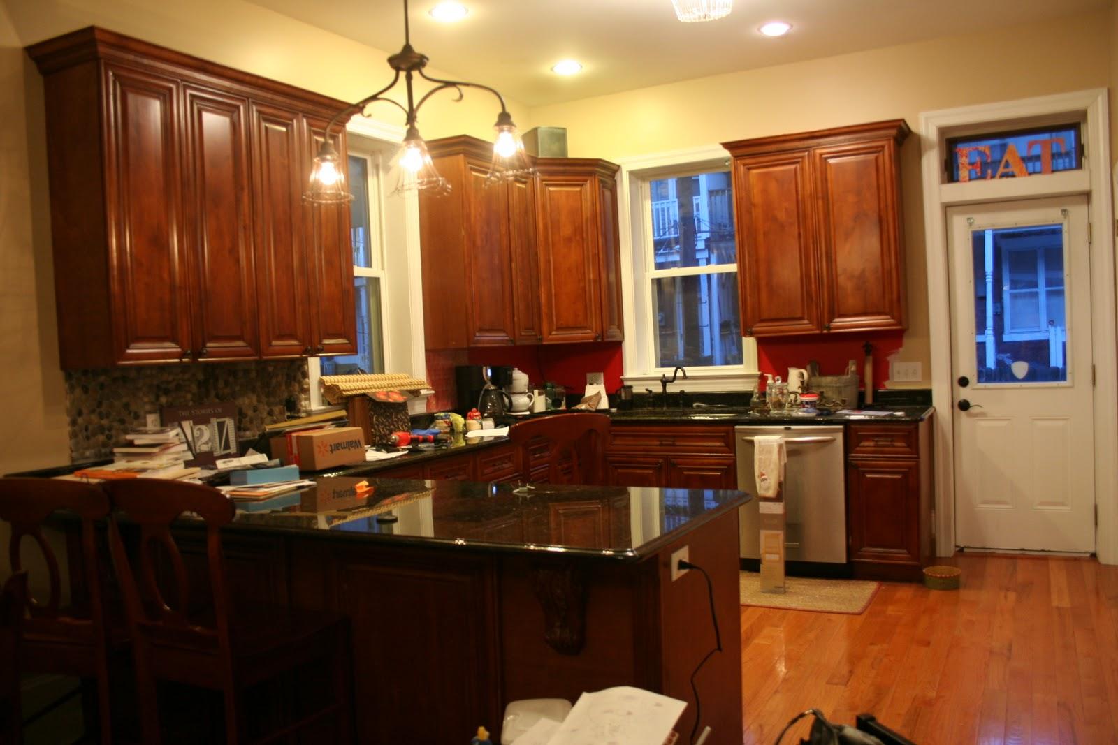Dark Orange Kitchen Walls orange kitchen paint colors