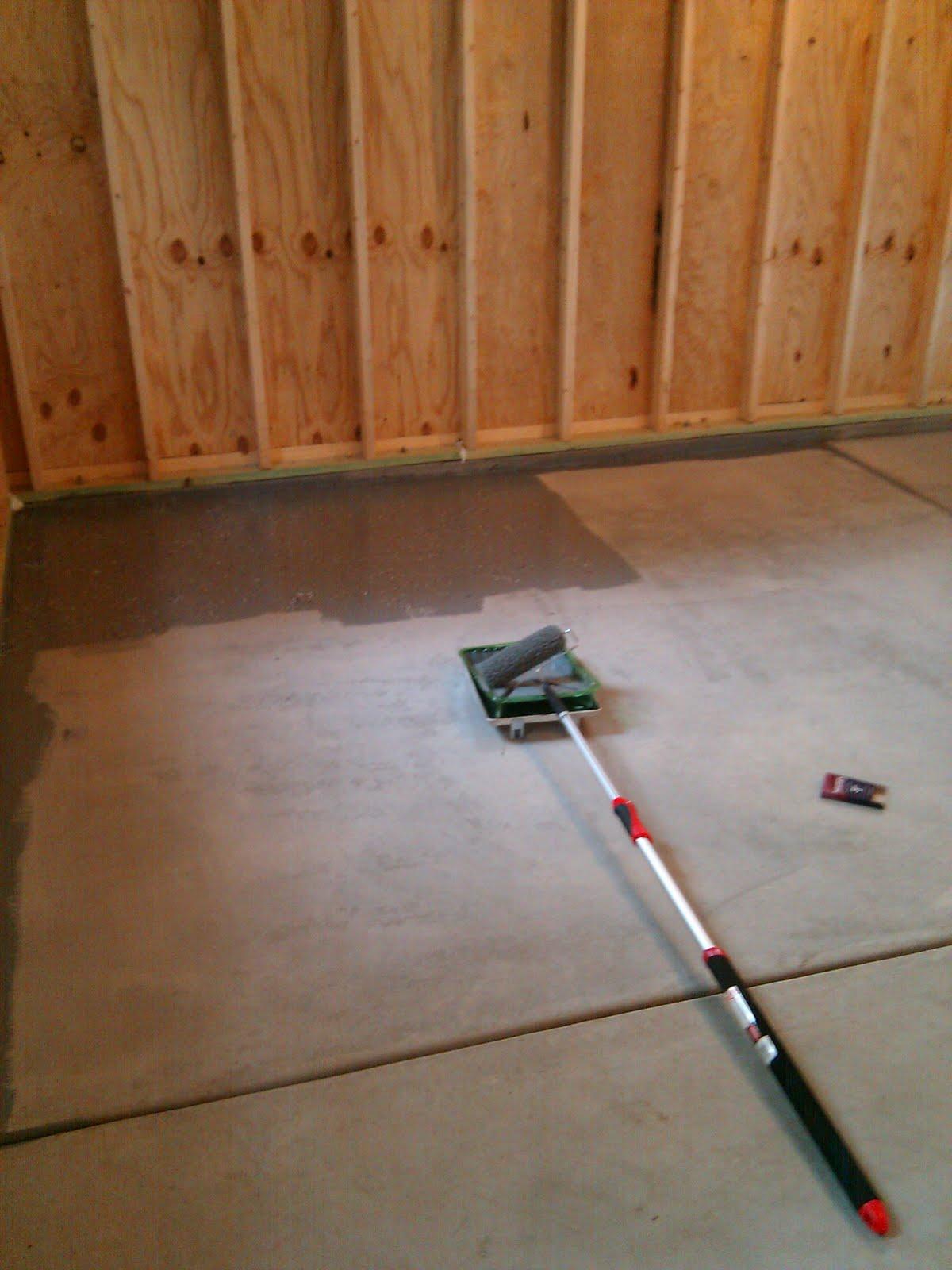 Epoxy Floors Do It Yourself : Epoxy garage floor diy