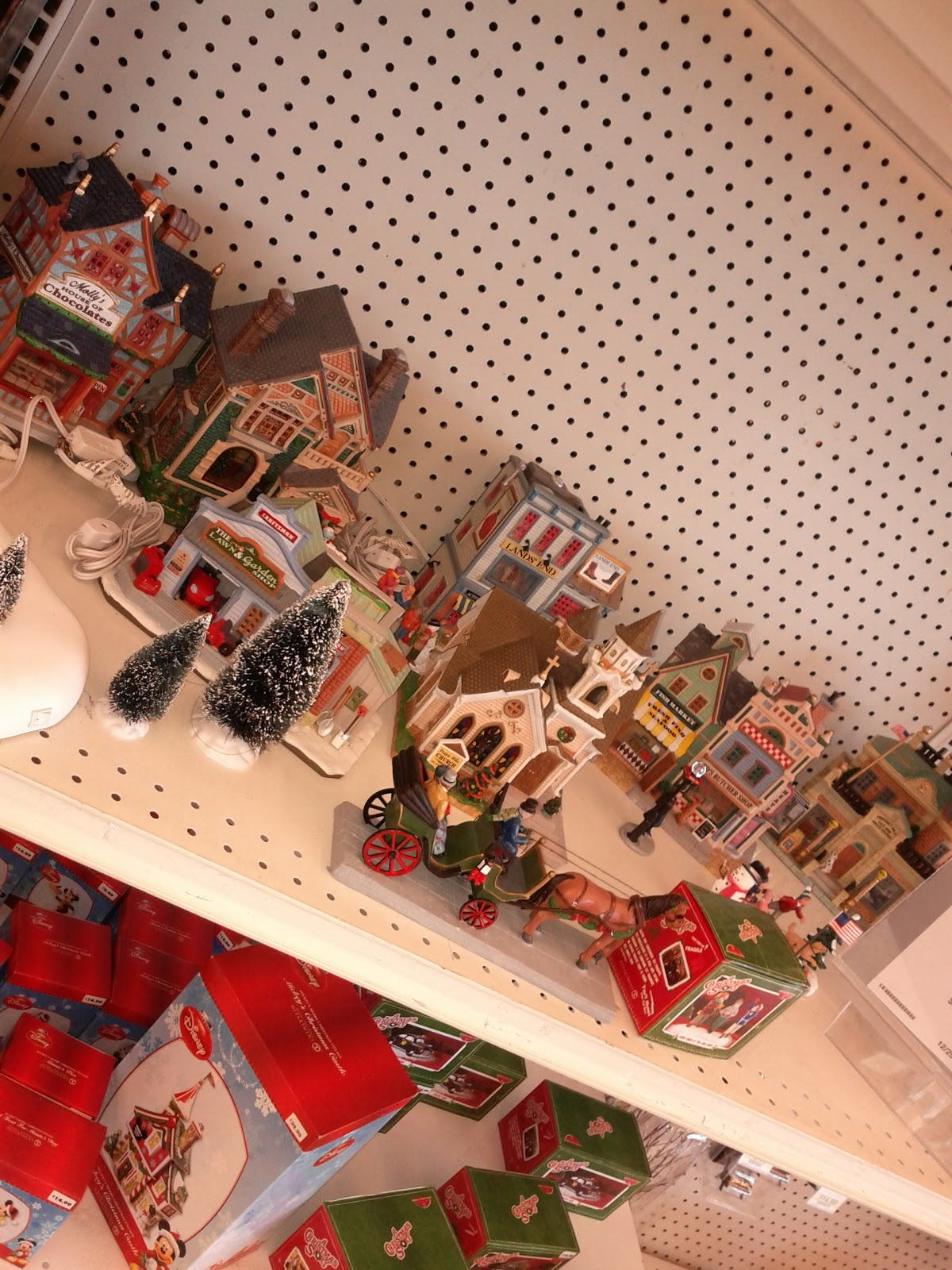 Lemax Christmas Village At Sears