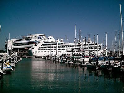 Ships Along Hyde Street Pier And San Francisco Bay - Cruise ships from san francisco