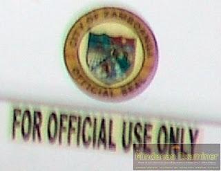 Photo: Is Zamboanga City Hall Vehicle For Family Use Also?