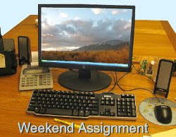 The Weekend Assignment