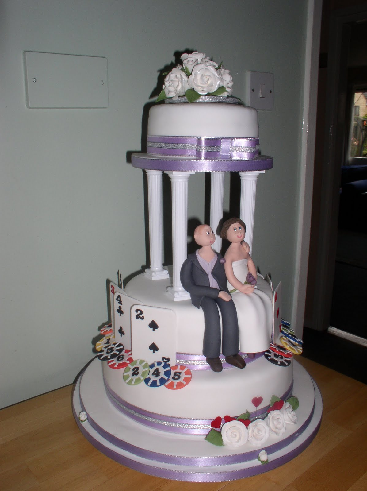 cakesbysarah vegas wedding cake. Black Bedroom Furniture Sets. Home Design Ideas