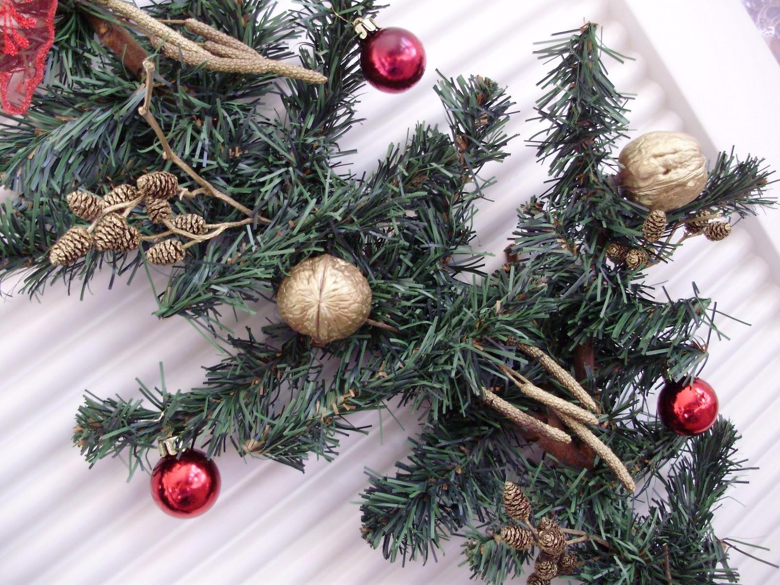 Rumore di fusa lavoretti di natale - Rami decorativi natalizi ...
