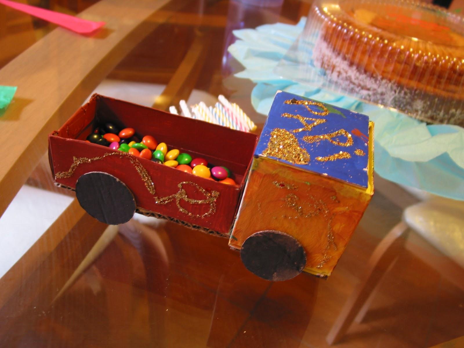 lo que hemos hecho con estos materiales desde regalos de cumpleaños