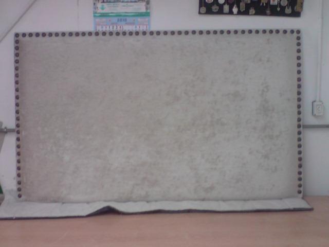 El tapicero de la reina - Cabeceros tapizados con tachuelas ...