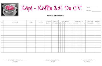 K P K Ffi Formato Nomina