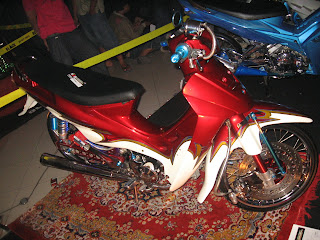 HONDA GRAND, YAMAHA VEGA, YAMAHA JUPITER Z, AND SUZUKI SHOGUN NEW