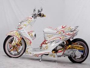Modif Yamaha Mio Cw