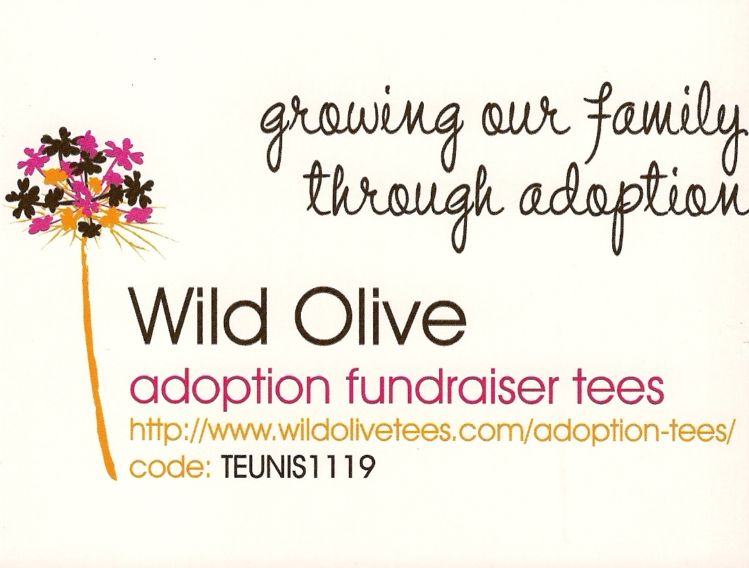 Tales from teunis ranch teunis adoption t shirt for Adoption fundraiser t shirts