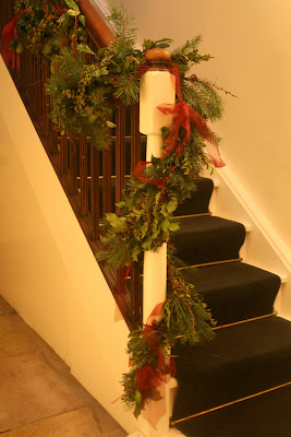 Wedding Staircase Decorations