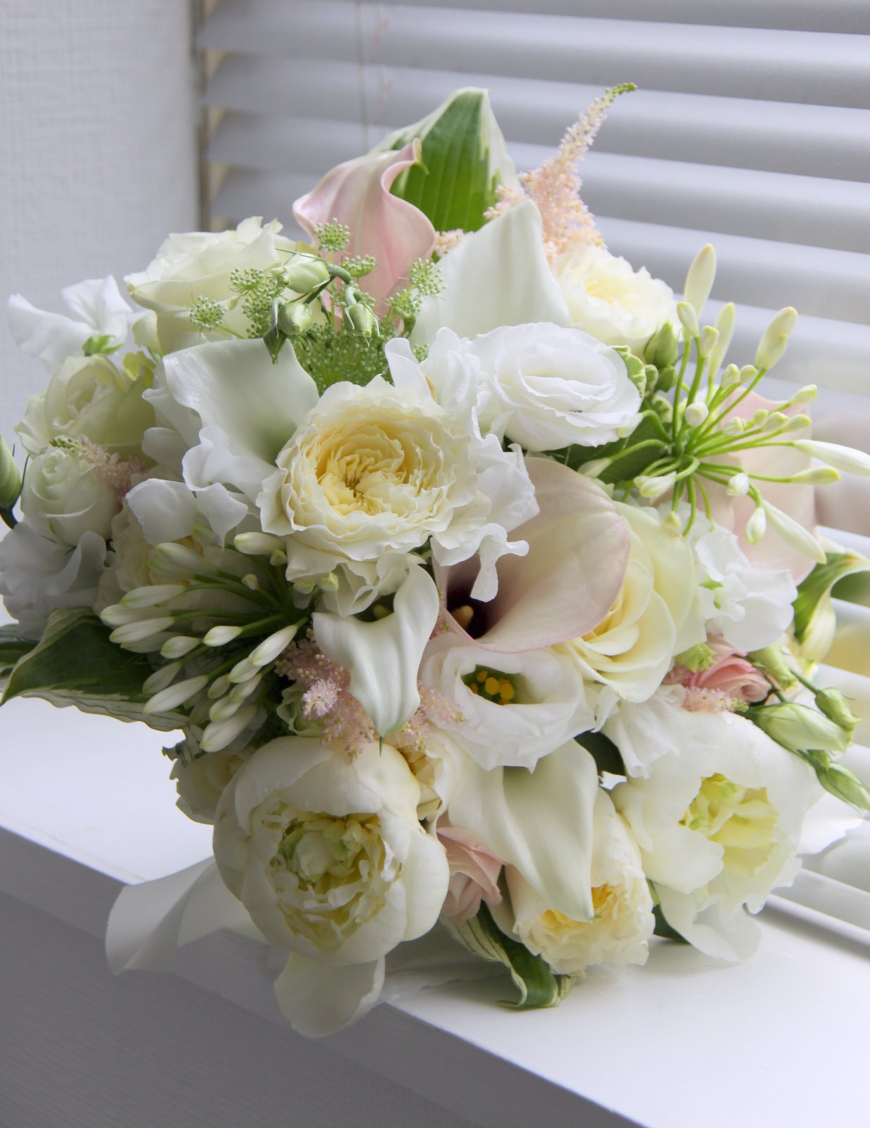 The flower magician gorgeous ivory and blush pink wedding bouquet gorgeous ivory and blush pink wedding bouquet izmirmasajfo Choice Image