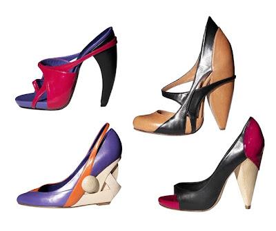 Zapatos de Clementine Baxter – Colección Primavera 2010